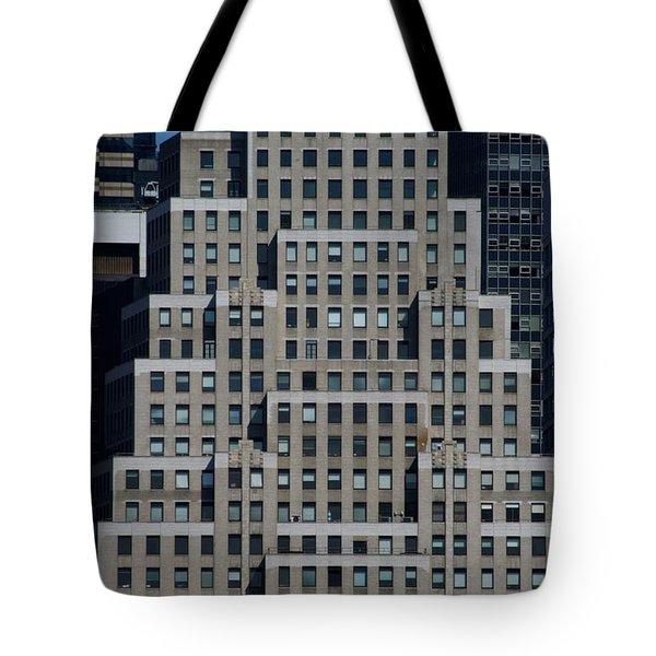 120 Wall Street Nyc Tote Bag