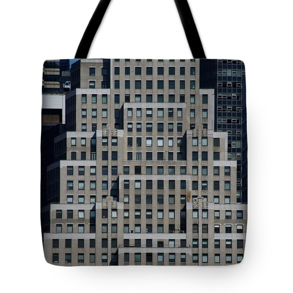 120 Wall Street Nyc Tote Bag