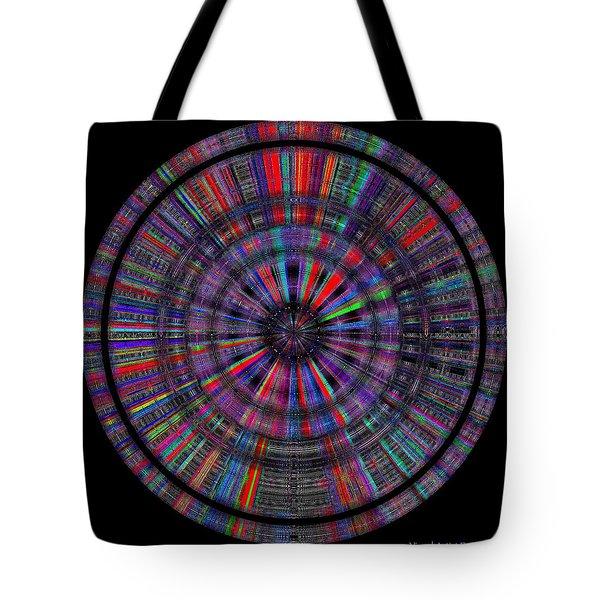 Tote Bag featuring the digital art #1220201511 by Visual Artist Frank Bonilla