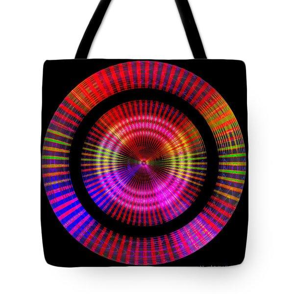 Tote Bag featuring the digital art #1227201153 by Visual Artist Frank Bonilla