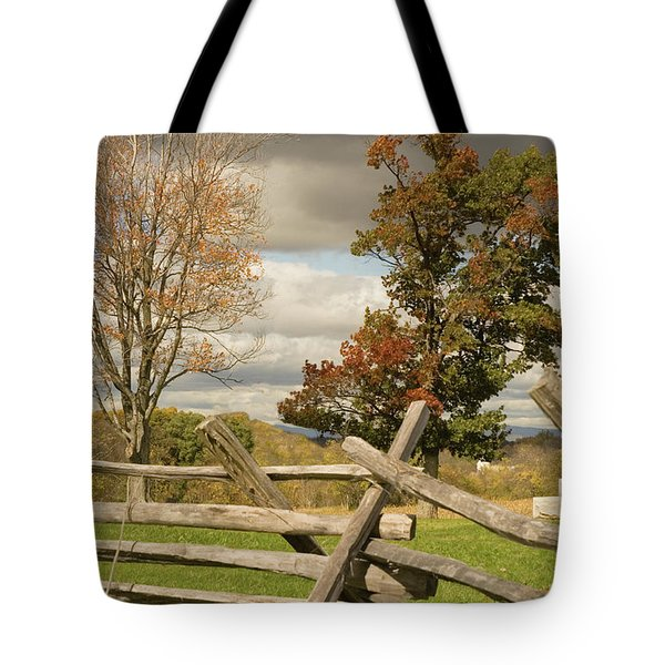 124th Pennsylvania Infantry Monument Tote Bag