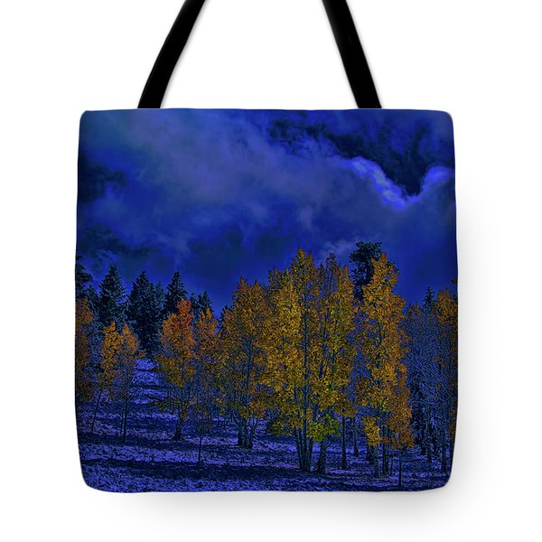 Rocky Mountain Fall Tote Bag