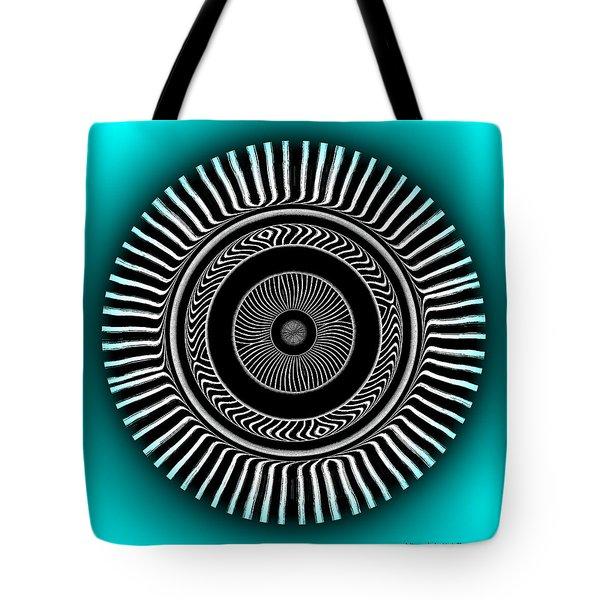 Tote Bag featuring the digital art #128220156 by Visual Artist Frank Bonilla