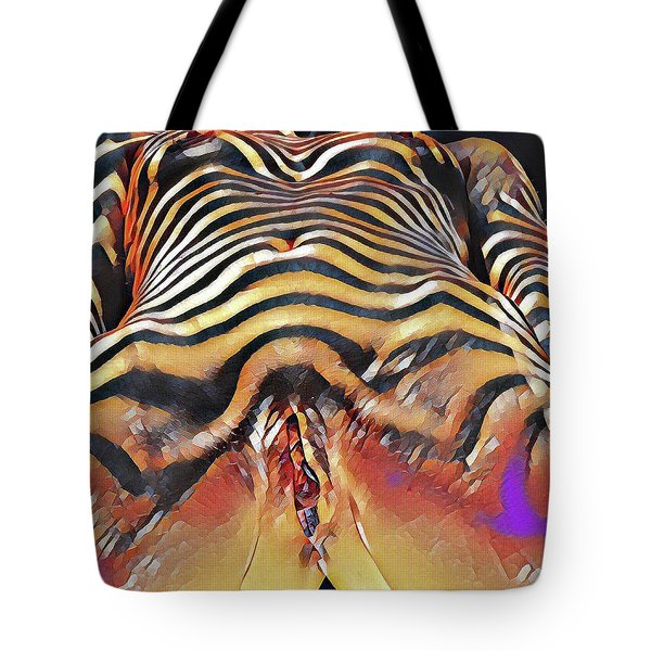 1290s-ak Intimate Vulval Portrait Rendered In The Style Of Francis Picabia  Tote Bag