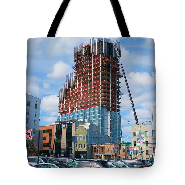 Tote Bag featuring the photograph 12oct16 by Steve Sahm