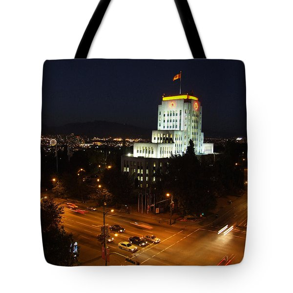 12th And Cambie 1 Tote Bag