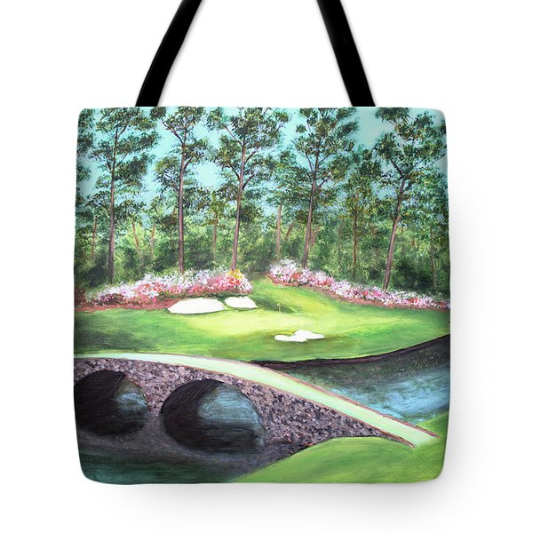 12th Hole At Augusta National Tote Bag