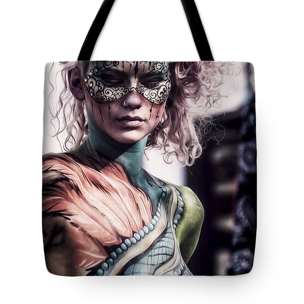 Bodypainting Tote Bag by Traven Milovich
