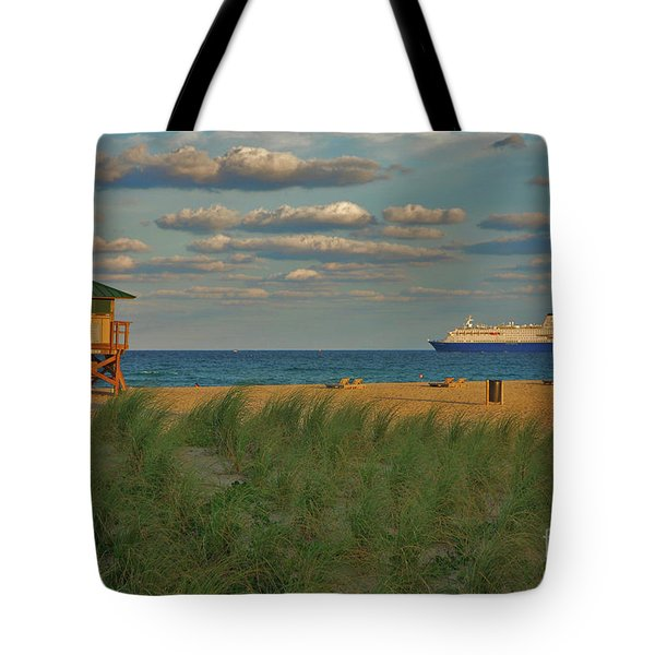 Tote Bag featuring the photograph 13- Cruising In Paradise by Joseph Keane