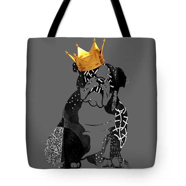 English Bulldog Collection Tote Bag by Marvin Blaine