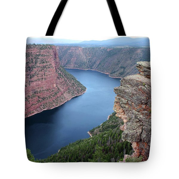 Flaming Gorge National Park Tote Bag