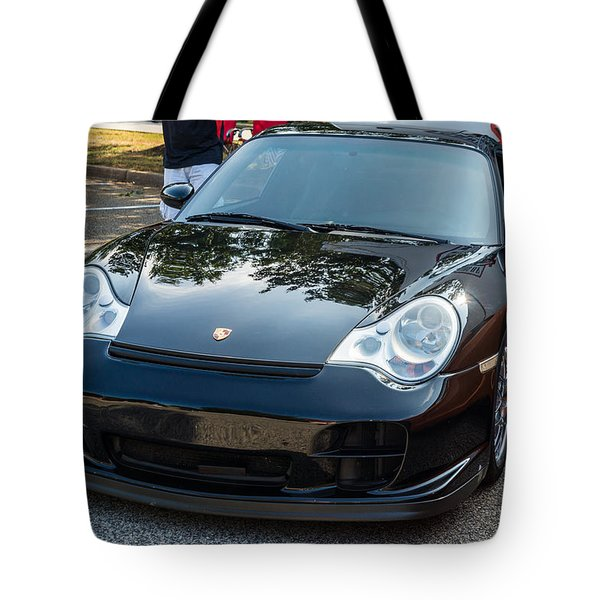 Hall County Sheriffs Office Show And Shine Car Show Tote Bag by Michael Sussman
