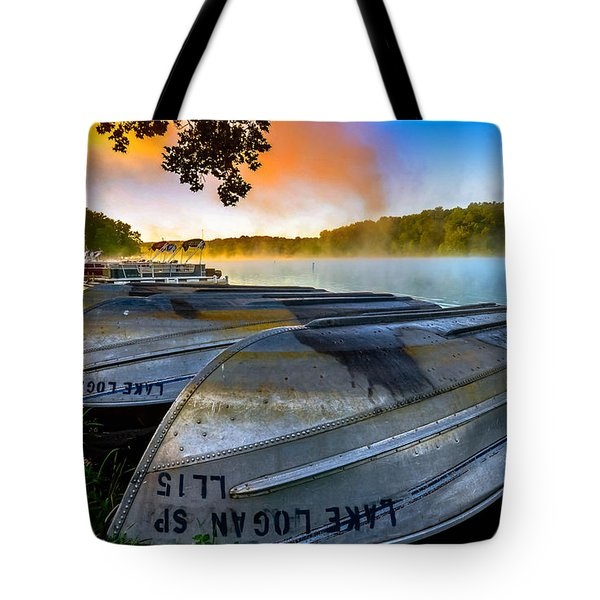 Lake Logan 2 Tote Bag