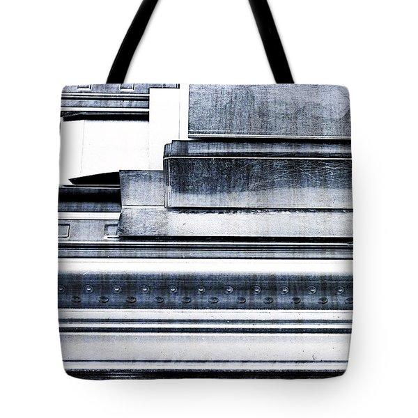 Metal Bars Tote Bag