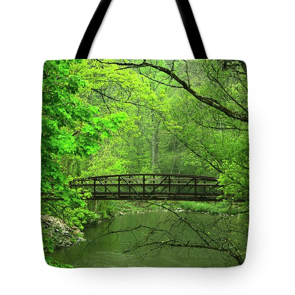 Jacobsburg State Park Pa Tote Bag