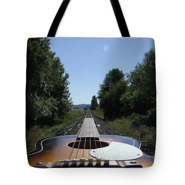 Your Band Name Here Lp Cover Art Tote Bag