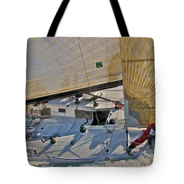 Bay Regatta Tote Bag