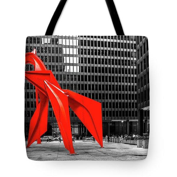 1371 The Flamingo Tote Bag