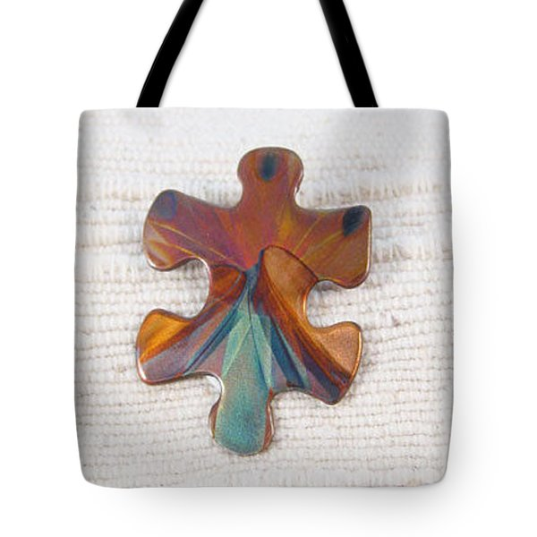 1399 Puzzle Piece Tote Bag
