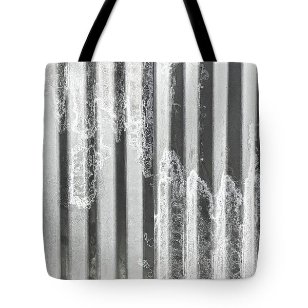 Corrugated Metal Tote Bag