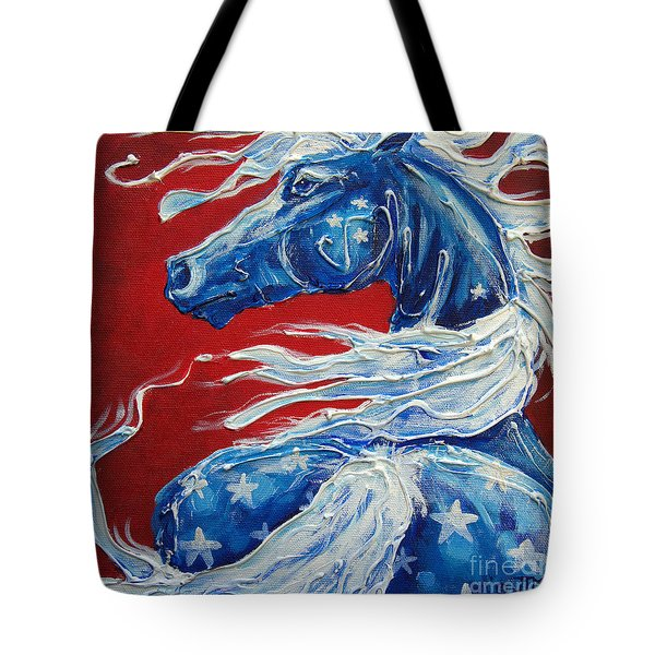 #14 July 4th Tote Bag