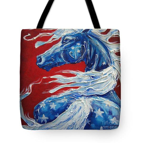 #14 July 4th Tote Bag