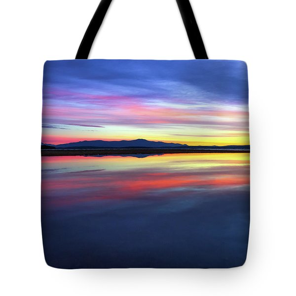 Lake Winnipesaukee - Layers Tote Bag