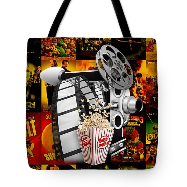 Movie Room Decor Collection Tote Bag