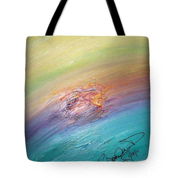 Original Abstract Masterpiece Tote Bag