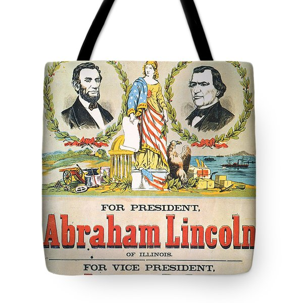 Presidential Campaign, 1864 Tote Bag by Granger