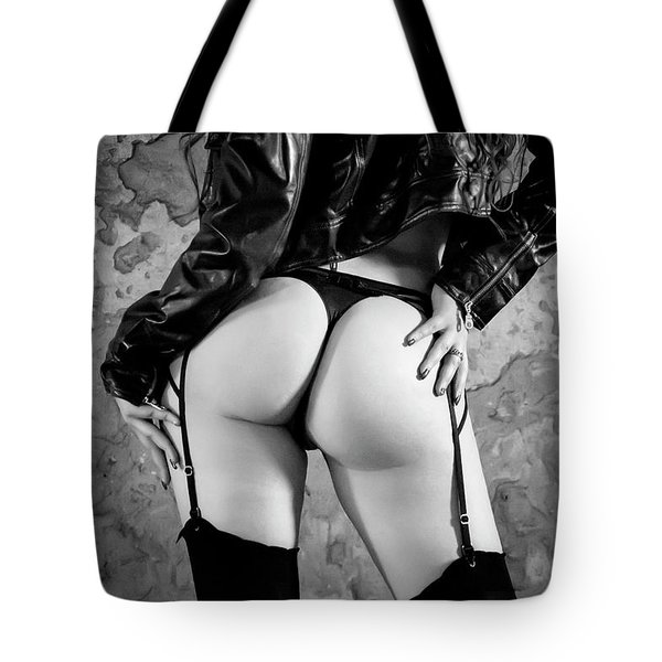 Pretty Things Are Going To Hell Tote Bag by Traven Milovich