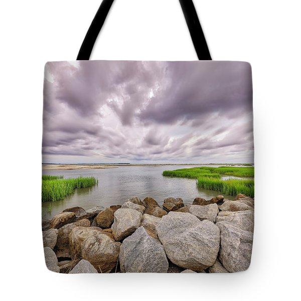 Seascape Of Hilton Head Island Tote Bag