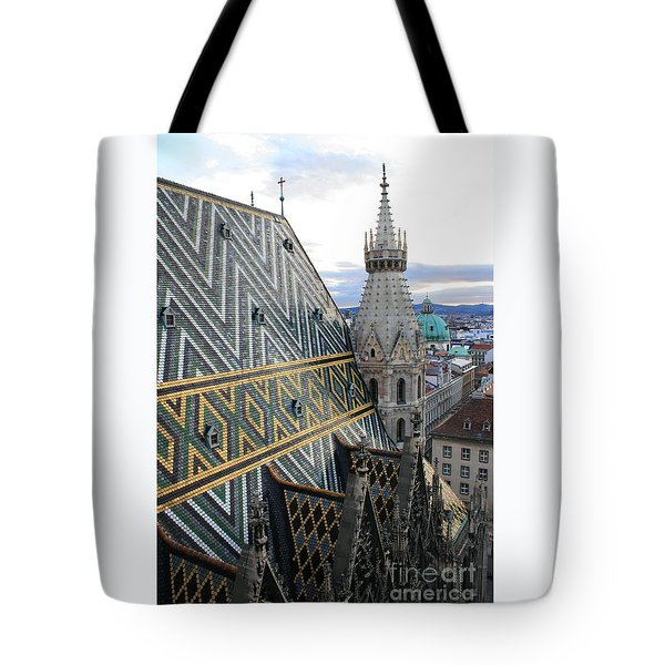 St Stephens Cathedral Vienna Tote Bag