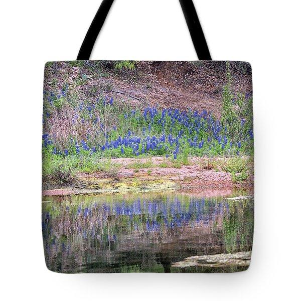 Texas Bluebonnets 8 Tote Bag