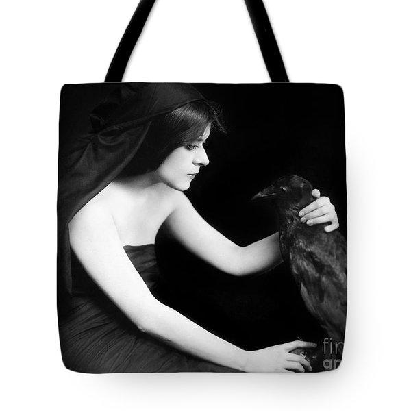 Theda Bara (1885-1955) Tote Bag by Granger