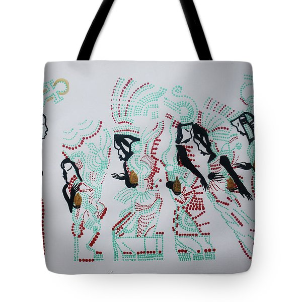 Wise Virgins Tote Bag by Gloria Ssali