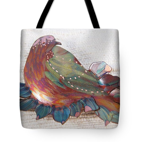 1402 Nesting Bird Tote Bag