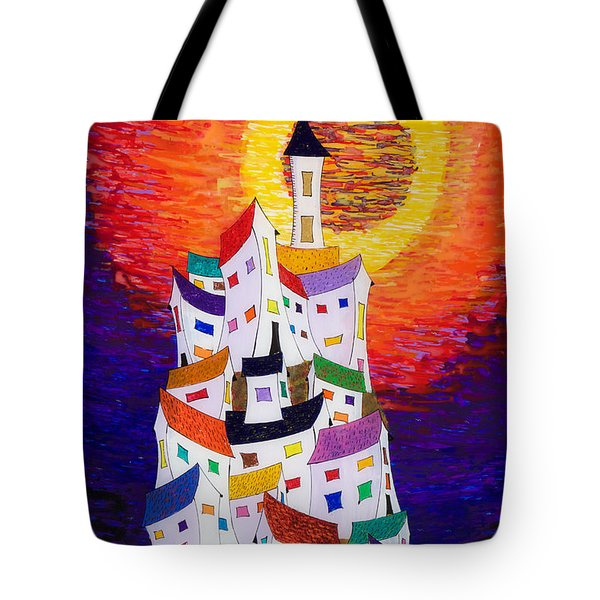 15-22 Sun Village Tote Bag