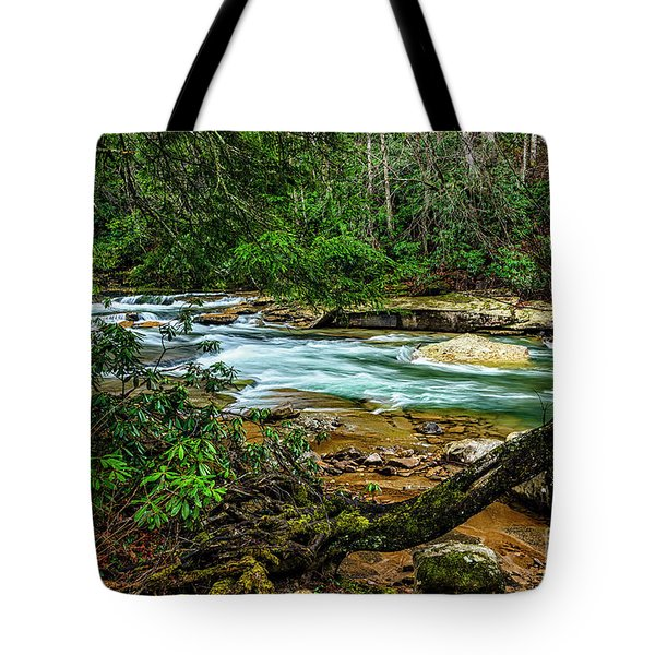 Tote Bag featuring the photograph Back Fork Of Elk River by Thomas R Fletcher