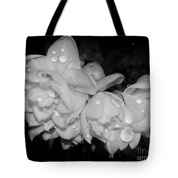Tote Bag featuring the photograph Flowers by Elvira Ladocki