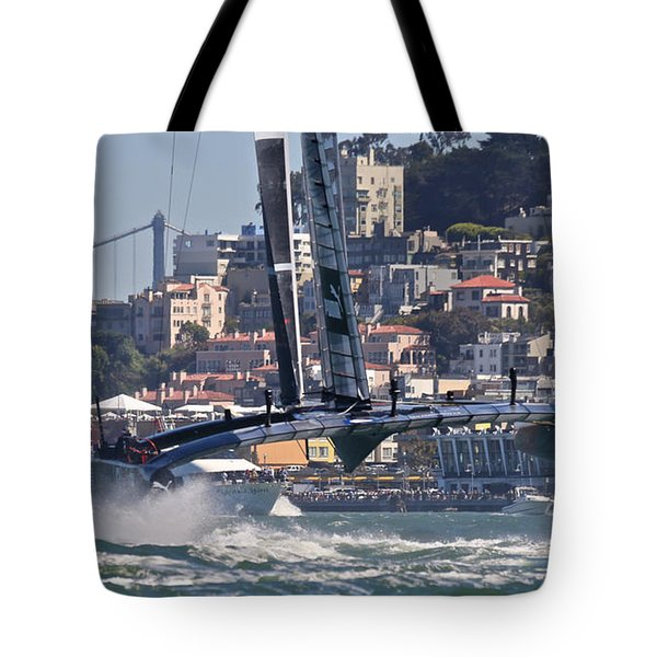 Oracle America's Cup Tote Bag