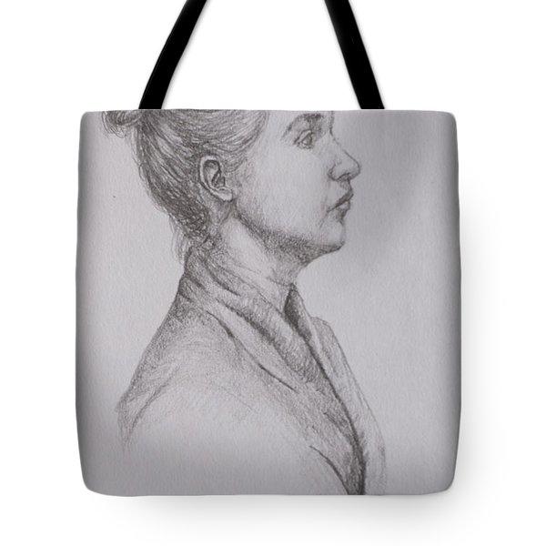 Profile Tote Bag