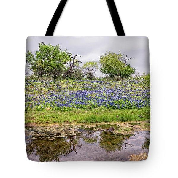Texas Bluebonnets 7 Tote Bag