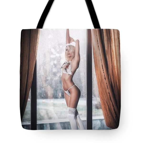 Tote Bag featuring the photograph 1593 by Traven Milovich