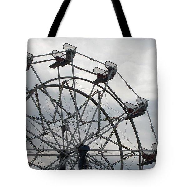 15th Street Ferris Wheel Tote Bag