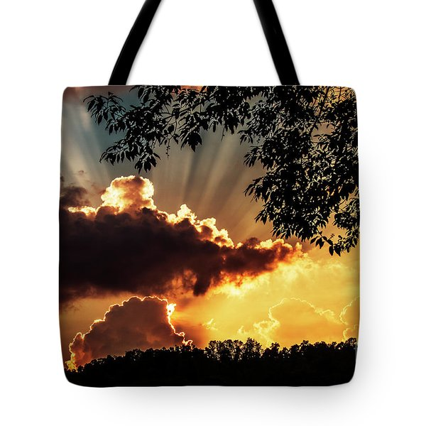 Tote Bag featuring the photograph Appalachian Sunset by Thomas R Fletcher
