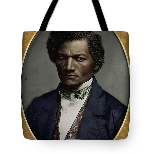 Tote Bag featuring the photograph Frederick Douglass by Granger