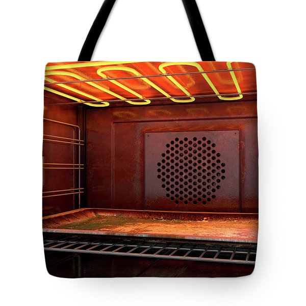 Inside The Oven Tote Bag