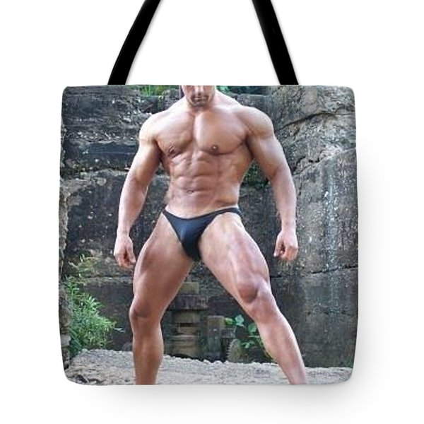 The Art Of Muscle Tote Bag by Jake Hartz