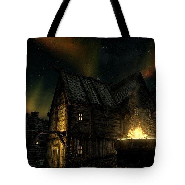 The Elder Scrolls V Skyrim Tote Bag